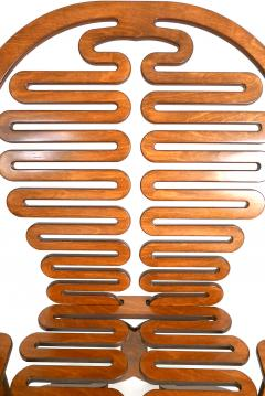 Gregg Fleishman Rare Gregg Fleishman Prototype European Birch Lumbarest Chair  - 829872