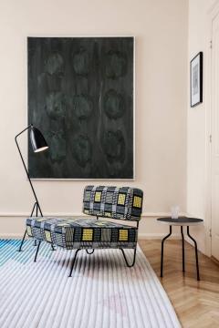 Greta Magnusson Grossman Greta Magnusson Grossman Grasshopper Floor Lamp in Black - 546078
