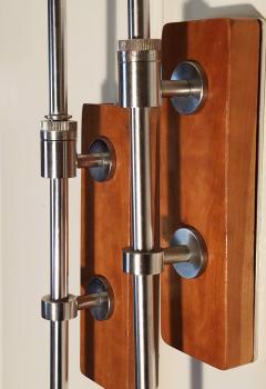 Greta Von Nessen Greta von Nessen Pair of Adjustable NS 945 Swing Arm Wall Lamps Circa 1950 - 1247004