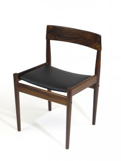 Grete Jalk Grete Jalk for P Jeppesens Rosewood Danish Dining Chairs - 229975