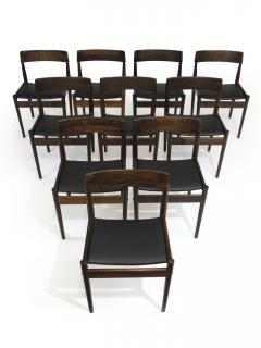 Grete Jalk Grete Jalk for P Jeppesens Rosewood Danish Dining Chairs - 229978
