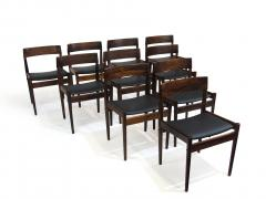 Grete Jalk Grete Jalk for P Jeppesens Rosewood Danish Dining Chairs - 229982