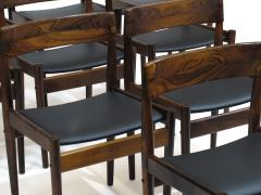 Grete Jalk Grete Jalk for P Jeppesens Rosewood Danish Dining Chairs - 229983