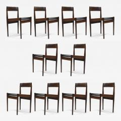 Grete Jalk Grete Jalk for P Jeppesens Rosewood Danish Dining Chairs - 230330