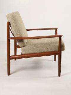 Grete Jalk Pair of Scandinavian Modern Armchairs Designed by Grete Jalk - 2014323