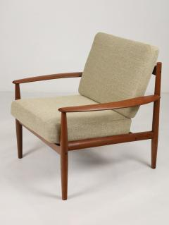 Grete Jalk Pair of Scandinavian Modern Armchairs Designed by Grete Jalk - 2014325