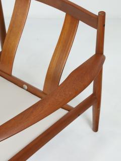 Grete Jalk Pair of Scandinavian Modern Armchairs Designed by Grete Jalk - 2014327