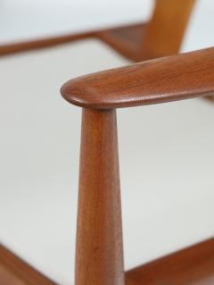 Grete Jalk Pair of Scandinavian Modern Armchairs Designed by Grete Jalk - 2014328