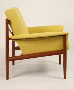Grete Jalk Pair of Scandinavian Modern Armchairs Designed by Grete Jalk - 2022821