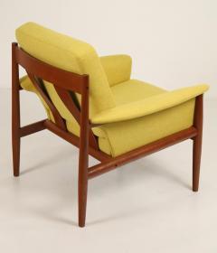 Grete Jalk Pair of Scandinavian Modern Armchairs Designed by Grete Jalk - 2022822