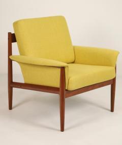 Grete Jalk Pair of Scandinavian Modern Armchairs Designed by Grete Jalk - 2022823
