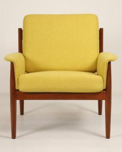 Grete Jalk Pair of Scandinavian Modern Armchairs Designed by Grete Jalk - 2022824