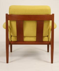 Grete Jalk Pair of Scandinavian Modern Armchairs Designed by Grete Jalk - 2022825