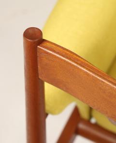 Grete Jalk Pair of Scandinavian Modern Armchairs Designed by Grete Jalk - 2022826