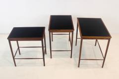 Grete Jalk Rare Scandianvian Modern Nesting Tables Designed by Grete Jalk - 1633613