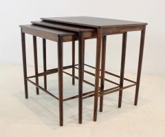 Grete Jalk Rare Scandianvian Modern Nesting Tables Designed by Grete Jalk - 1633614