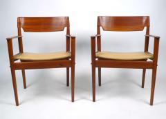 Grete Jalk Teak Arm Chairs by Grete Jalk - 232400