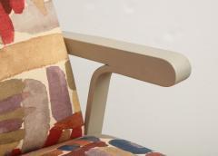 Greywashed Maple Armchair - 872734