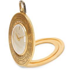 Gubelin World Timer Pocket Watch in 14K Gold Filled - 1365310