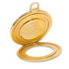 Gubelin World Timer Pocket Watch in 14K Gold Filled - 1365311