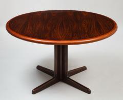 Gudme M belfabrik Danish Modern rosewood dining table with two leaves by Gudme Mobelfabrik - 1386937