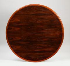 Gudme M belfabrik Danish Modern rosewood dining table with two leaves by Gudme Mobelfabrik - 1386949