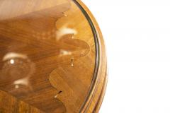 Gueridon Wood and Brass circa 1940 France - 989278