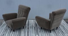 Guglielmo Ulrich 1940s Art Deco Italian Lounge Chairs - 2132126