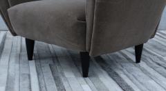Guglielmo Ulrich 1940s Art Deco Italian Lounge Chairs - 2132128