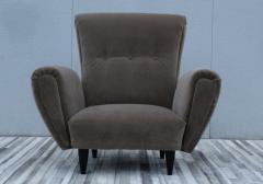 Guglielmo Ulrich 1940s Art Deco Italian Lounge Chairs - 2132129