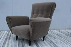 Guglielmo Ulrich 1940s Art Deco Italian Lounge Chairs - 2132131