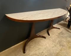 Guglielmo Ulrich Buffet Console designed by Guglielmo Ulrich Rosewood and Marble Italy 1950s - 1205092