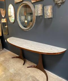 Guglielmo Ulrich Buffet Console designed by Guglielmo Ulrich Rosewood and Marble Italy 1950s - 1205093