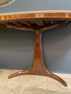 Guglielmo Ulrich Buffet Console designed by Guglielmo Ulrich Rosewood and Marble Italy 1950s - 1205096