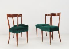 Guglielmo Ulrich Dining Chairs by Guglielmo Ulrich 1940s Set of 4 - 1059223