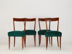 Guglielmo Ulrich Dining Chairs by Guglielmo Ulrich 1940s Set of 4 - 1059225