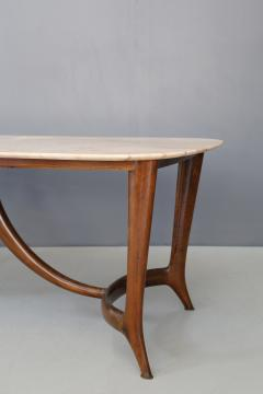 Guglielmo Ulrich Guglielmo Ulrich Dinning Table MidCentury in Marble and Mahogany 1950s - 1116199