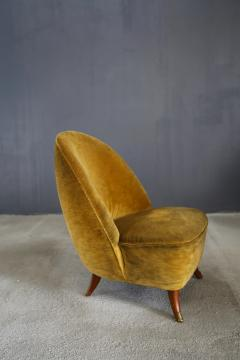 Guglielmo Ulrich Guglielmo Ulrich armchairs from 1950 with original fabric - 1029850