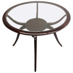 Guglielmo Ulrich Italian Mid Century Modern Arachnid Coffee Side Table Guglielmo Ulrich 1940 - 1759573