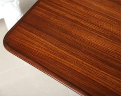 Guglielmo Ulrich Italian Modern Rosewood and Serpentine Marble Dining Table - 392084