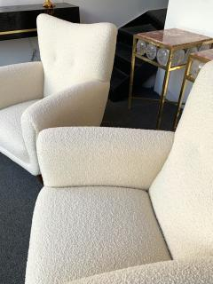Guglielmo Ulrich Pair of Armchairs by Guglielmo Ulrich Italy 1950s - 1235890