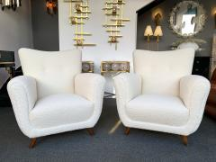 Guglielmo Ulrich Pair of Armchairs by Guglielmo Ulrich Italy 1950s - 1235891