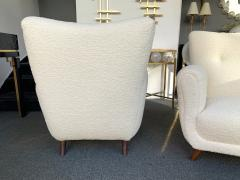 Guglielmo Ulrich Pair of Armchairs by Guglielmo Ulrich Italy 1950s - 1235894