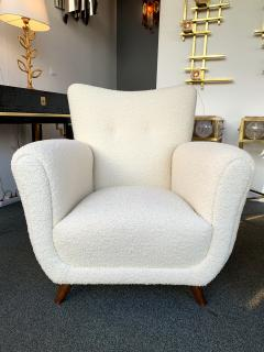 Guglielmo Ulrich Pair of Armchairs by Guglielmo Ulrich Italy 1950s - 1235895