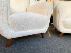 Guglielmo Ulrich Pair of Armchairs by Guglielmo Ulrich Italy 1950s - 1235896