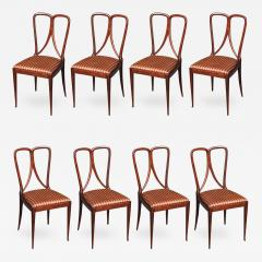 Guglielmo Ulrich Set of Eight Dining Chairs by Guglielmo Ulrich - 469876