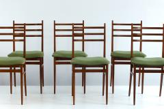 Guglielmo Ulrich Set of Six Guglielmo Ulrich Trieste Dining Chairs 1961 - 448916