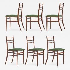 Guglielmo Ulrich Set of Six Guglielmo Ulrich Trieste Dining Chairs 1961 - 449212