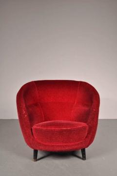 Guglielmo Veronesi 1950s Easy Chair Attributed to Guglielmo Veronesi for I S A Bergamo - 821733