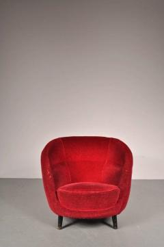 Guglielmo Veronesi 1950s Easy Chair Attributed to Guglielmo Veronesi for I S A Bergamo - 821739